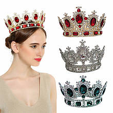 Круглі корони і корони на обручі для нагородження, висота від 4 див.