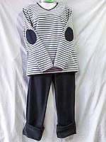 Пижама из флиса  унисекс с тельняшкой