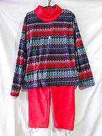 Пижама женская из флиса (полара) с орнаментом
