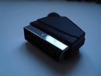 Штекер SCART разборный для монтажа на кабель