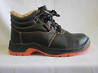 Польский рабочий ботинок оранжевая подошва