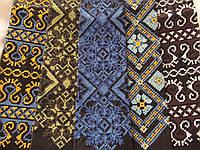 Галстук с вышивкой (140/110) (цена за 1 шт. + 30 гр.), фото 1