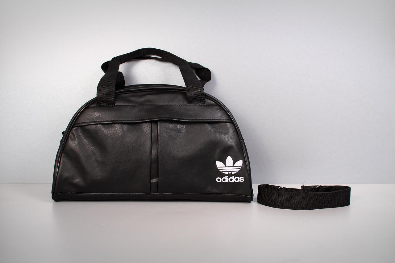 Спортивная сумка Adidas ( белый  логотип  )-реплика