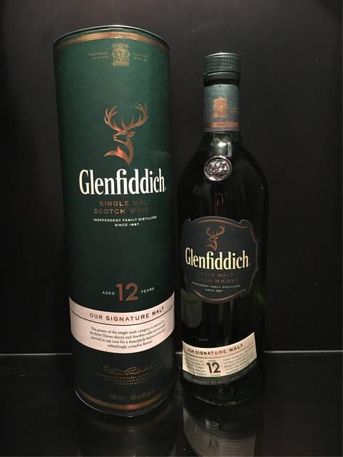 Односолодовый Виски Glenfiddich 12 y.o. 1л
