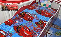 Плед покрывало микрофибра Тачки Молния Маквин для мальчика купить http://кровать-машина.com.ua/ Кровать машина Тачки - БЕСПЛАТНАЯ ДОСТАВКА!