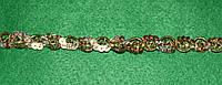 Тасьма декоративна люрекс золото 6104, фото 1