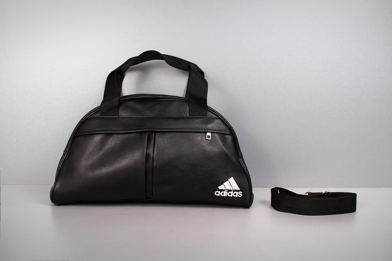 Спортивная сумка Adidas ( белый  логотип 2  )-реплика