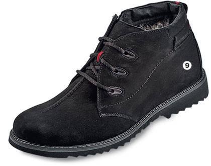 Мужские ботинки зимние МИДА 14658 из натурального нубука, фото 2