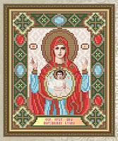 Набор для выкладки алмазной техникой «Нерушимая Стена Образ Пресвятой Богородицы»