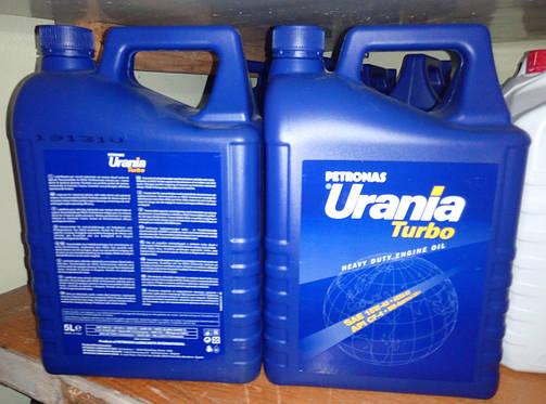 Масло моторное Urania Turbo 15W40 (5L), 13325015, фото 2
