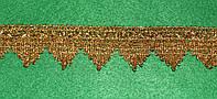 Тесьма декоративная люрекс золото  6106