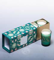 """Набор из трех арома свечей """"Тайский лемонграсс"""""""