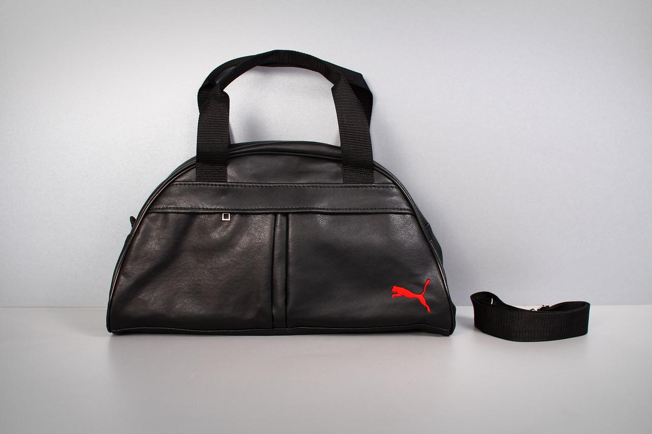 Спортивная сумка Puma ( красный логотип  )-реплика