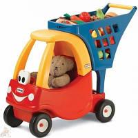 Little Tikes Тележка для продуктов с коляской для кукол 618338