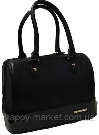 Купить Сумка женская Саквояж каркасная Fashion бочонок 331-1 в ... 3b390c68e28