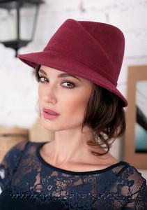 Шляпа  женская фетровая с полями