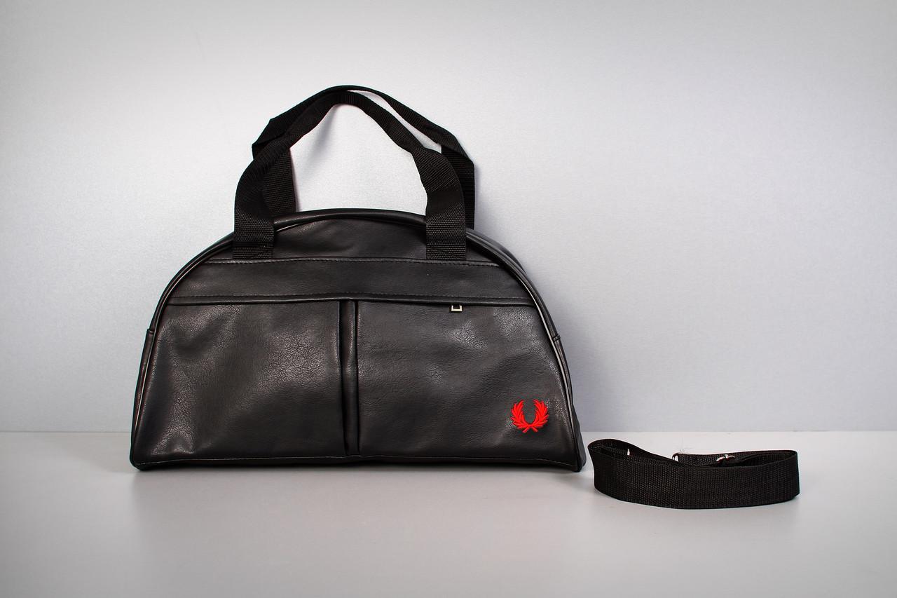 Спортивная сумка Fred Perry ( красный  логотип  )-реплика