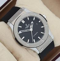 Часы мужские наручные Hublot Classic Fusion Black/Silver/Black AAA 1012-0070 AAA copy SK (реплика)