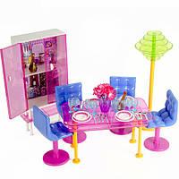 Кукольная мебель Gloria Обеденная комната. Модерн (2912)