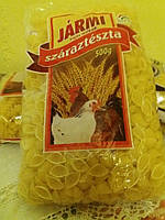 Макароны -ракушки 500грам  Jarmi-fele из Венгрии