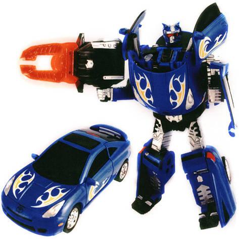 Игровая фигурка «Roadbot» (52040 r) робот-трансформер Toyota Celica, 1:32, фото 2