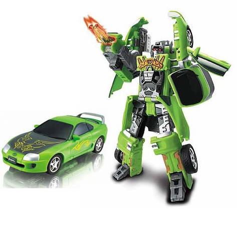 Игровая фигурка «Roadbot» (52050 r) робот-трансформер Toyota Supra, 1:32, фото 2