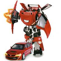 Игровая фигурка «Roadbot» (50100 r) робот-трансформер Mitsubishi Evolution VIII, 1:18
