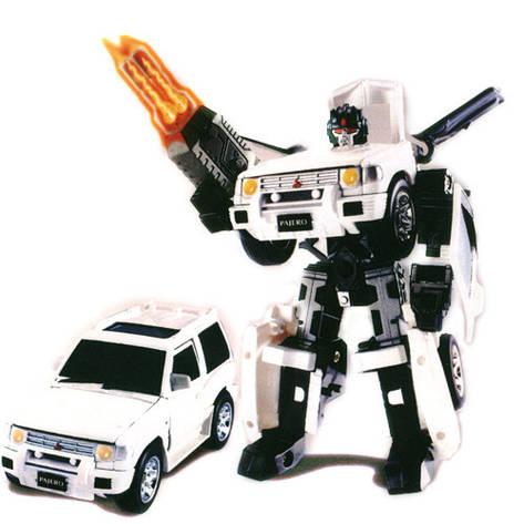 Игровая фигурка «Roadbot» (52020 r) робот-трансформер Mitsubishi Pajero, 1:32, фото 2