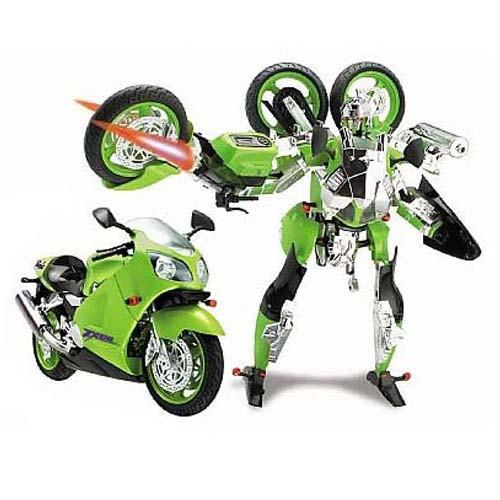 Игровая фигурка «Roadbot» (53010R) робот-трансформер Kawasaki Ninja ZX-12R, 1:10