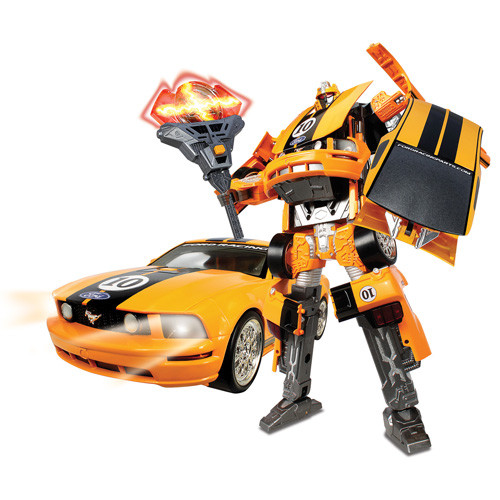 Игровая фигурка «Roadbot» (50170R) робот-трансформер Mustang FR500C, 1:18
