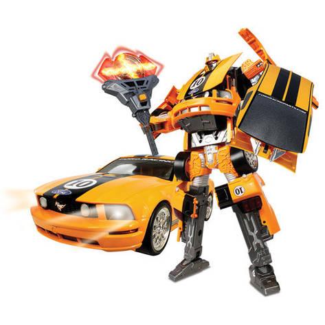 Игровая фигурка «Roadbot» (50170R) робот-трансформер Mustang FR500C, 1:18, фото 2