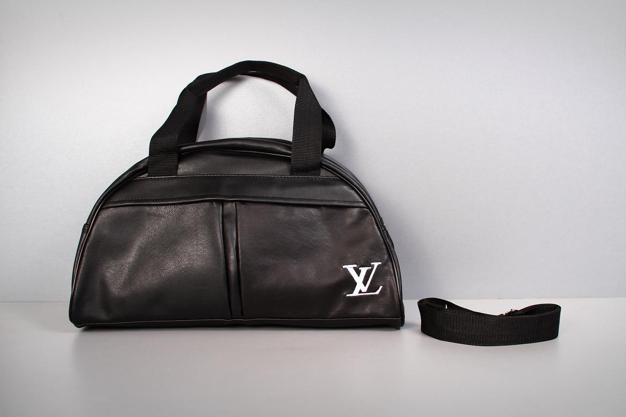 Спортивная сумка Louis Vuitton ( белый  логотип  )-реплика