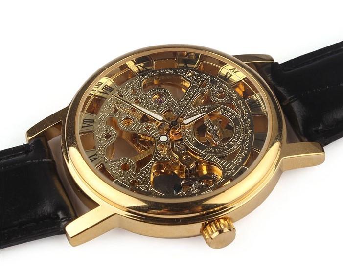 Мужские механические часы скелетон Winner Skeleton GOLD !!!  продажа ... 5e1c9e4ca2c31