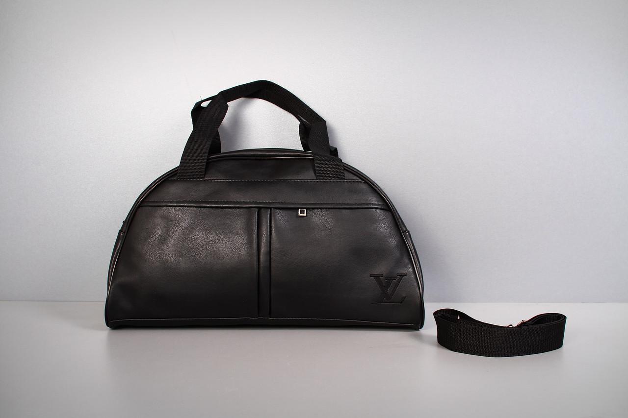 Спортивная сумка Louis Vuitton ( черный  логотип  )-реплика