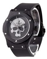 Часы мужские наручные Hublot Skull Bang Mechanic Black/Black ― Grey 1012-0071 AAA copy SK (реплика)