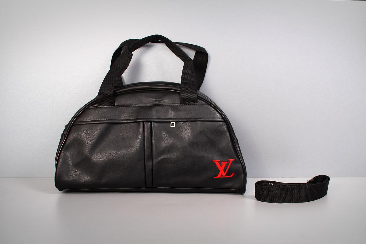 Спортивная сумка Louis Vuitton ( красный  логотип  )-реплика