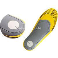 Ортопедические стельки для обуви с 3D супинатором PREMIUM 35-40р (женские)