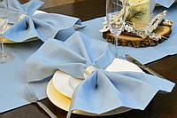 Салфетка для стола Канзас небесный 40*40 см