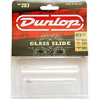 Слайдер Dunlop 203 Pyrex Glass Guitar Slide 22х1,5х69