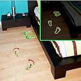 Детские наклейки на стену, пол, у ванную  , светящиеся следы(4075040), фото 2