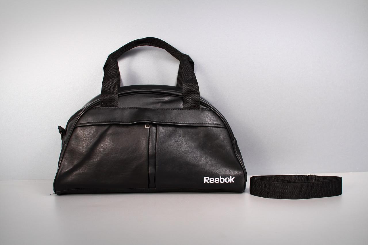 Спортивная сумка Reebok ( белый  логотип  )-реплика