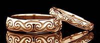Обручальное кольцо (с кельтской символикой) от WickerRing