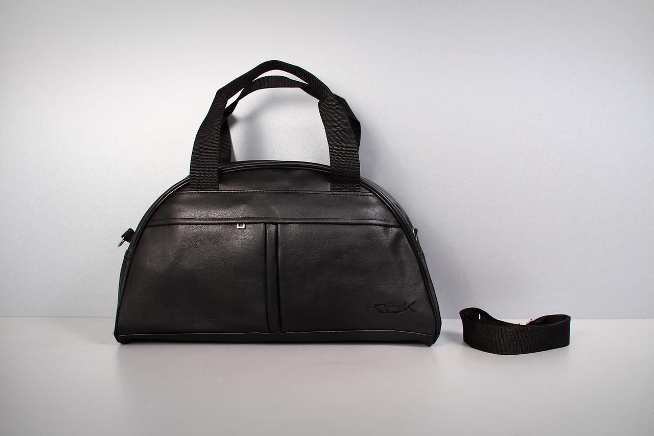 Спортивная сумка Reebok ( черный  логотип 3  ) -реплика