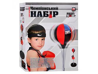 Боксерская груша Чемпионский набор 42х34х9 см (М 1072)