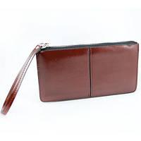 Женский кошелек на замке, модель 8008 коричневый