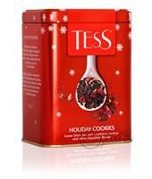 Чай Tess Holiday Cookies (Холидей Кукис), черный, листовой, ж/б, 110 г, фото 2
