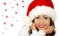Меховая Новогодняя шапка Деда Мороза или Колпак Санты для Взрослых