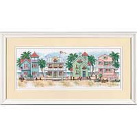 """Набор для вышивания Dimensions """"Котеджи у моря//Seaside Cottages"""" 13726"""