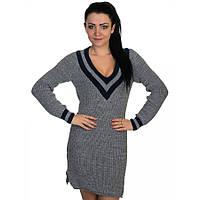 Теплое вязаное платье от производителя