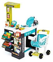 Интерактивный Супермаркет с тележкой Smoby 350206 (41 аксессуар)